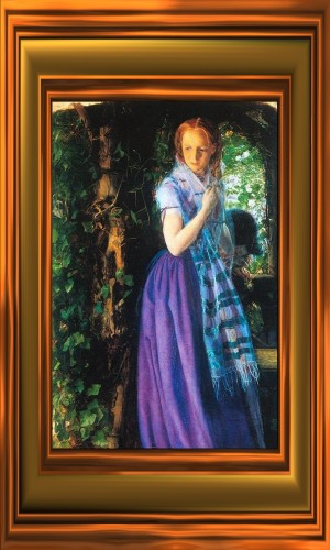 """April Love"" by Arthur Hughes 1855"