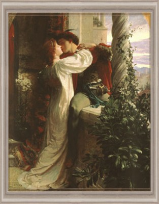 """Romeo and Juliet"" by Sir Francis Dicksee"